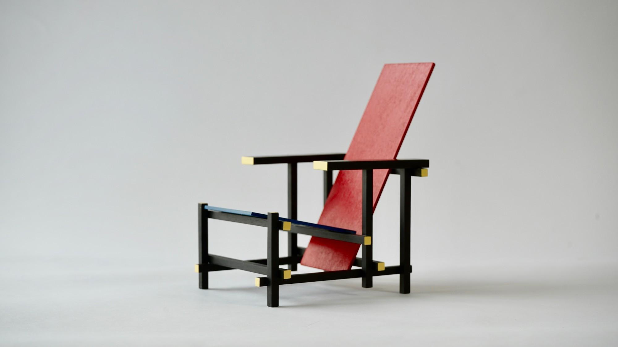 Rot-Blau-Stuhl Modell